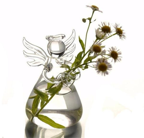 Angel Glass Vase