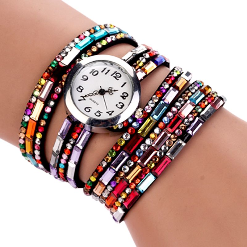 7 Colors Bracelet Watch