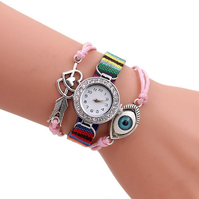 Eye Pendant  Quartz Watch