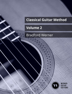 Classical Guitar Method – Volume 2