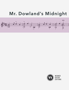 Mr. Dowland's Midnight - Guitar (PDF)