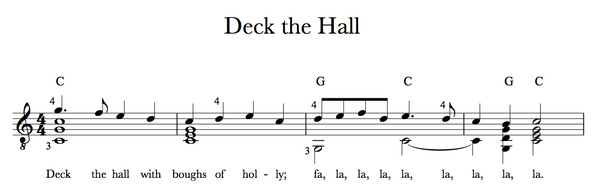 Deck the Halls - Sample