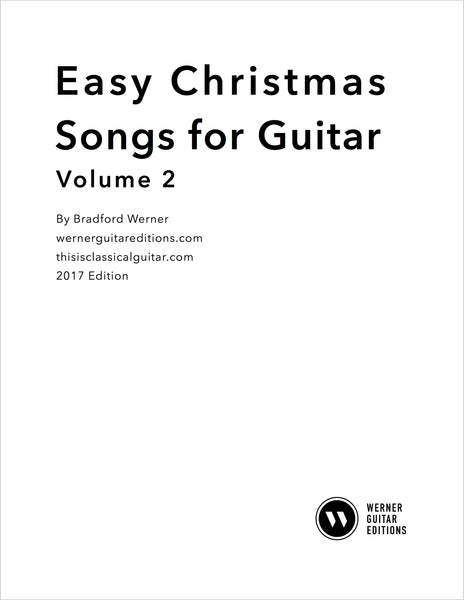 Easy Christmas Songs for Guitar