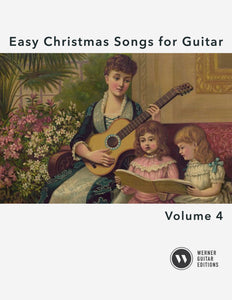 Easy Christmas Songs for Guitar Vol.4