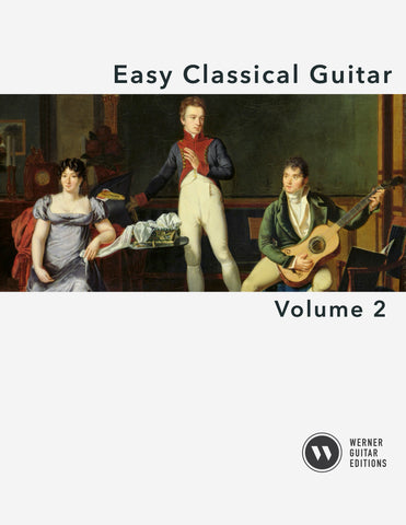 Easy Classical Guitar Volume 2 - Cover