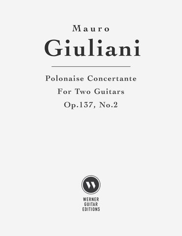 Polonaise Concertante, Op.137, No.2 by Giuliani - Guitar Duet