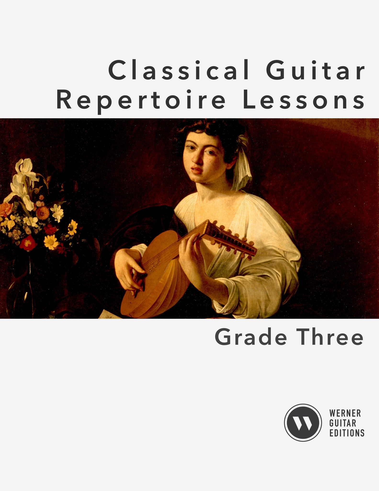 Classical Guitar Repertoire Lessons Grade 3 - Cover