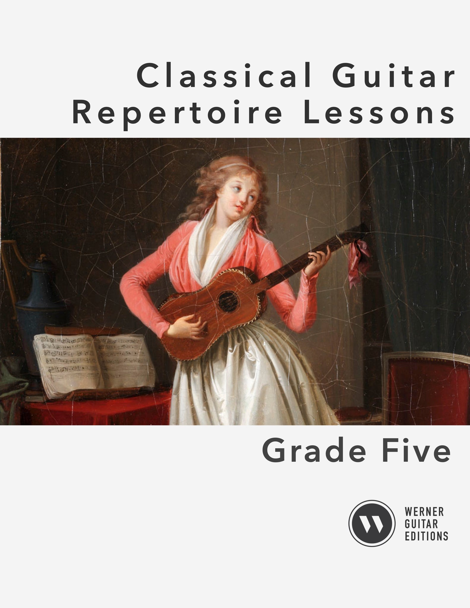 Classical Guitar Repertoire Lessons Grade 5 - Cover