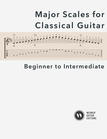 Major Scales for Classical Guitar