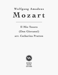 Il Mio Tesoro by Mozart, arr. Pratten for Guitar(PDF)