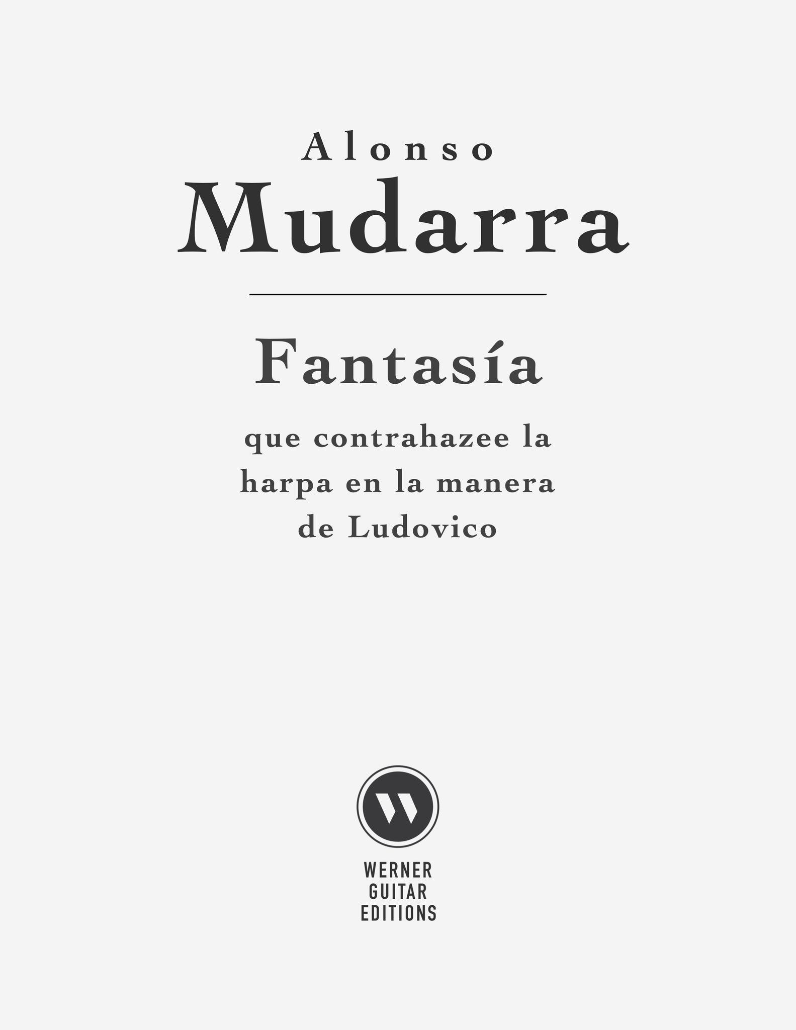 Fantasia X by Mudarra Sheet Music or Tab for Guitar (PDF)