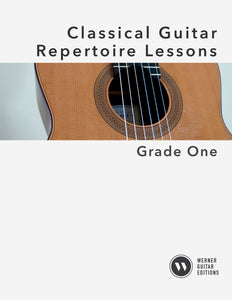Classical Guitar Repertoire Lessons Grade 1