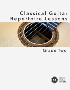Classical Guitar Repertoire Lessons Grade 2