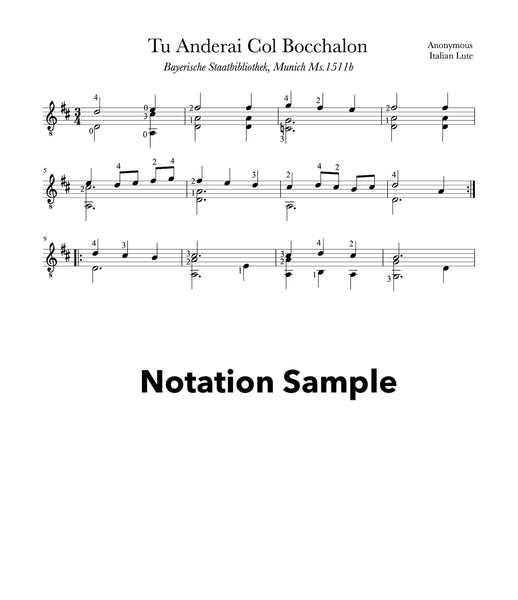 Easy Classical Guitar Volume 2 - Sheet Music Sample
