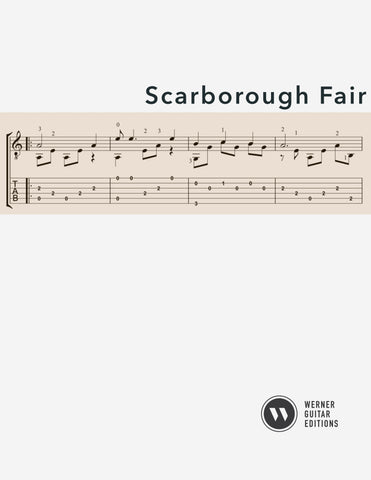Scarborough Fair for Guitar (PDF)