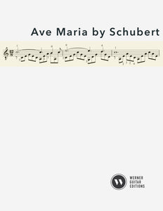 Ave Maria for Guitar (PDF)