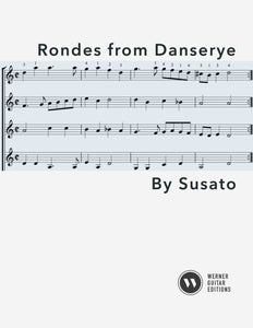 Rondes by Susato - 4 Guitars (PDF)