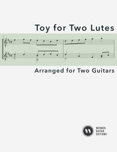 Toy for Two Lutes - Guitar Duet (PDF)
