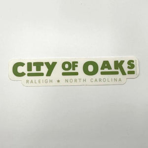 City Of Oaks sticker