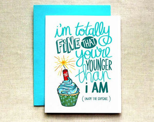 Dynamite Cupcake Birthday Card