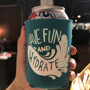 Illustrated Koozie