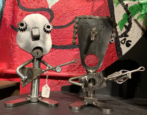 Metal Art: Big Head band