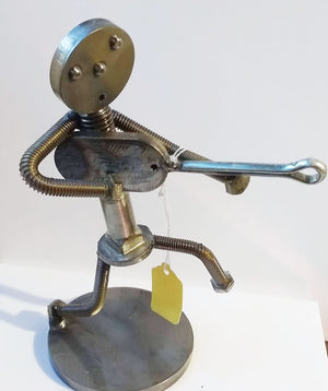 Welded Metal Art: Music