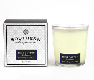 High Cotton Soy Candle - Glass