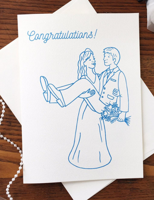 Congratulations Marriage Greeting Card