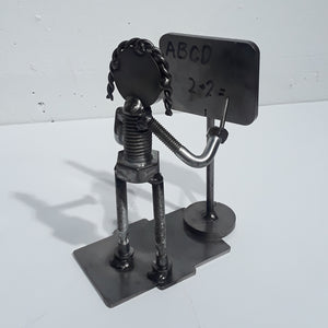 Welded Metal Art: Teacher