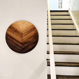 "18"" Ombre Wood Roundel - Danielle Milner"