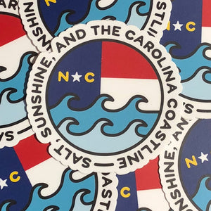 Salt, Sunshine, & the Carolina Coastline magnet