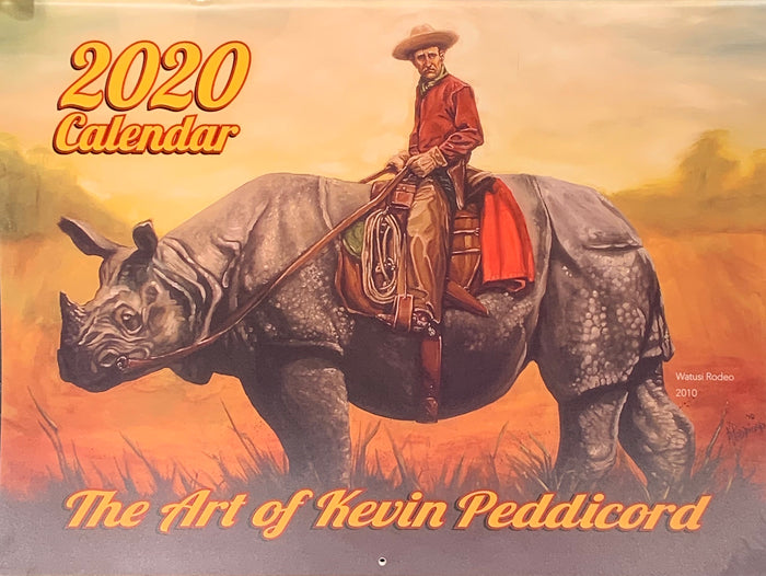 2020 Calendar: The Art of Kevin Peddicord
