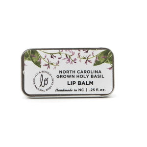 NC Grown Holy Basil Lip Balm