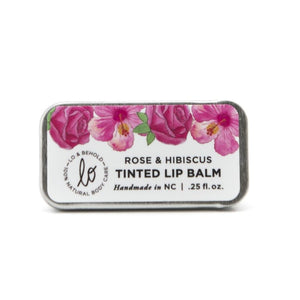 Rose & Hibiscus Lip Balm