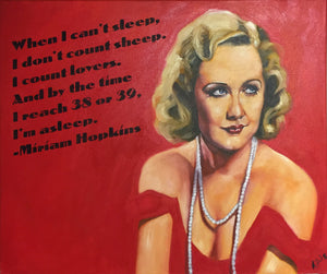Miriam Hopkins Rolled Print