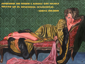 Norma Shearer Rolled Print