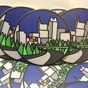 Raleigh Skyline sticker