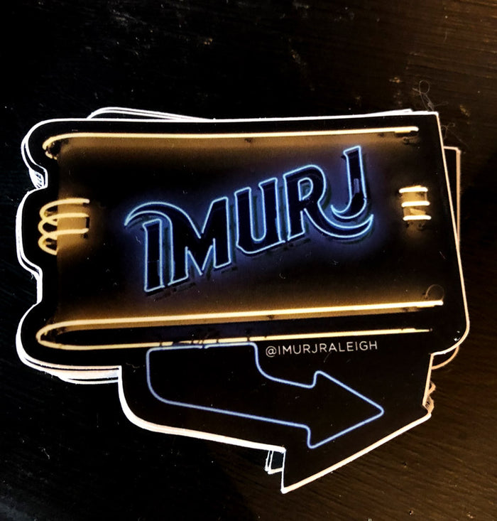 Imurj Neon Sign Sticker