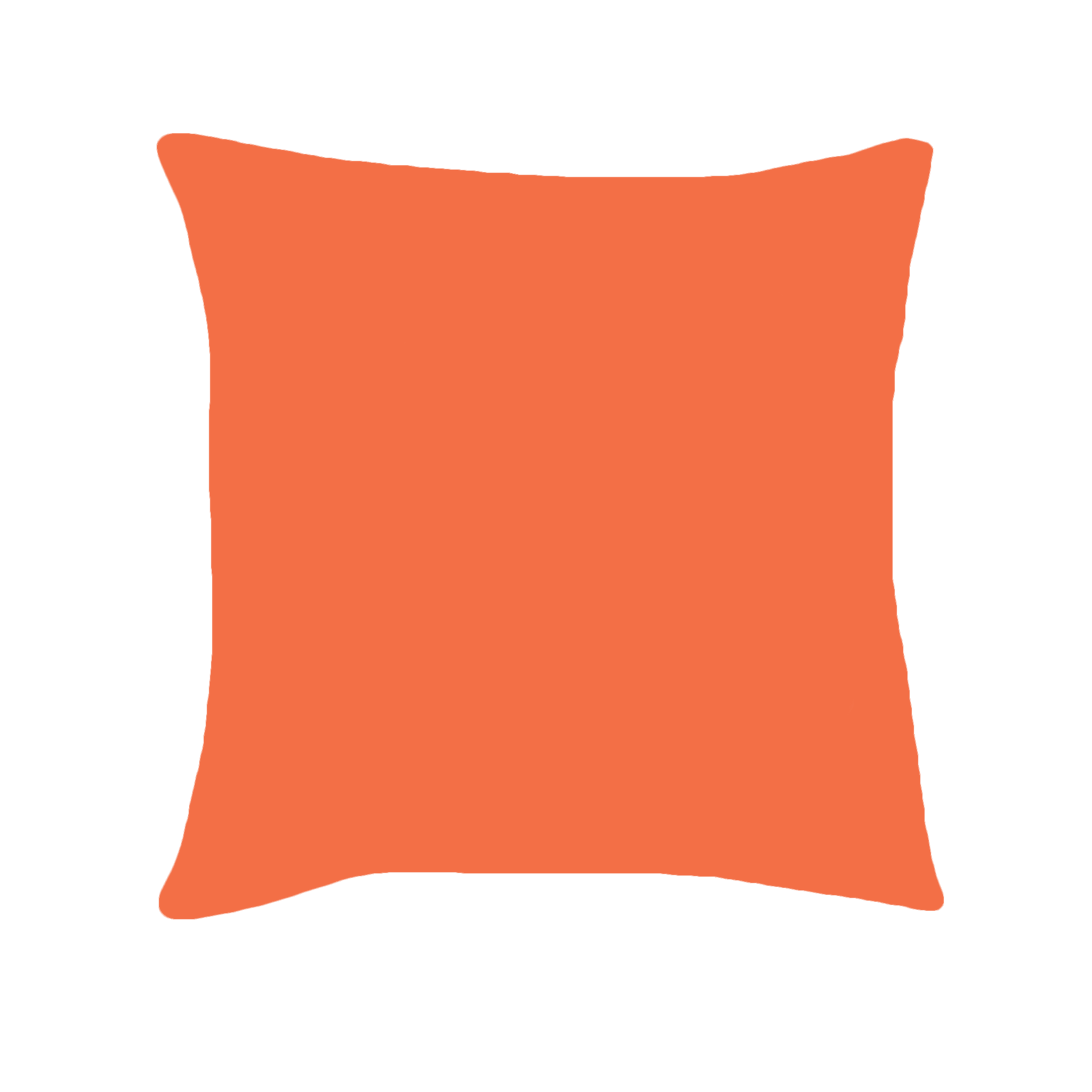 pillow products back letter pillows side decorative blow throw orange font the serif cushion u tangerine