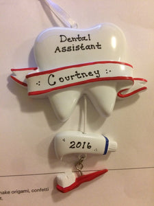 Dental Personalized Ornament