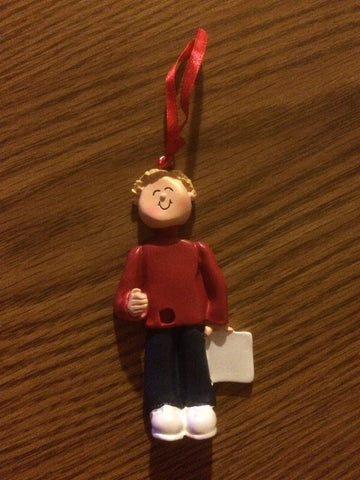 Musician // Personalized Christmas Ornament