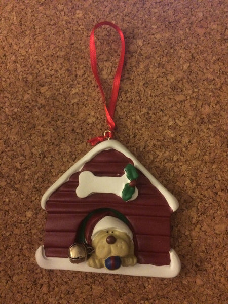 Doggy House Personalized Ornament