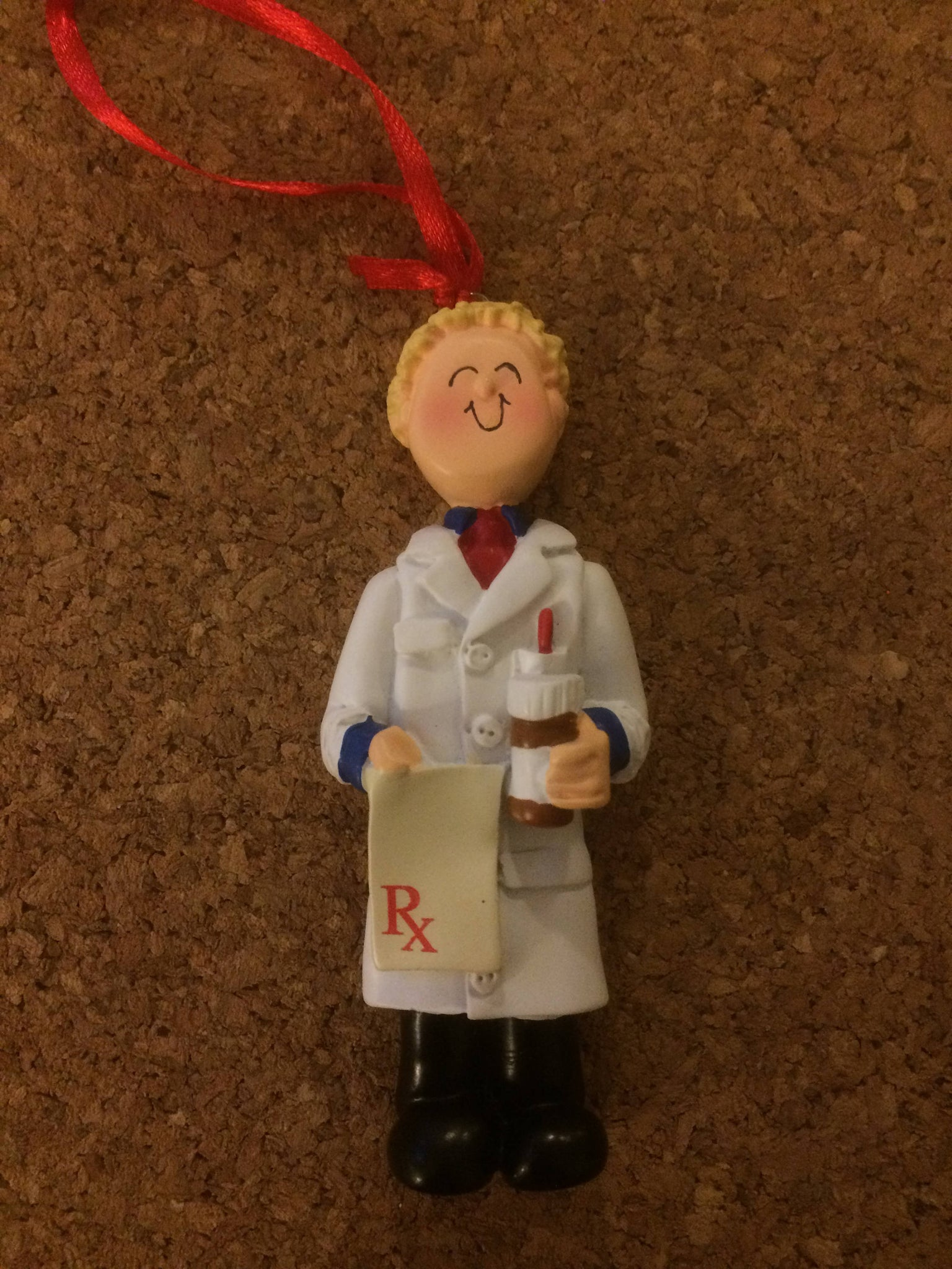 Pharmacist Personalized Pharmacy Ornament