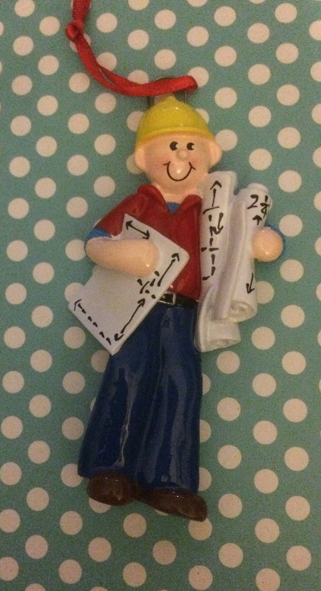 Carpenter Personalized Christmas Ornament