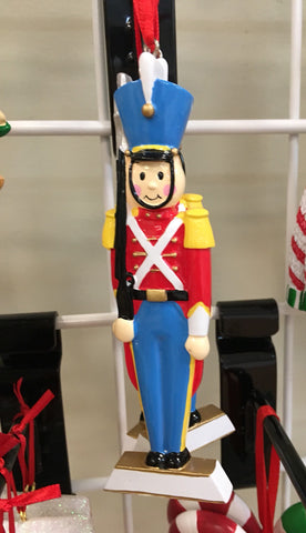 Nutcracker Tall Personalized Christmas Ornament