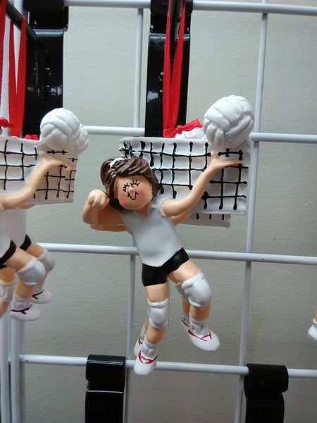 Volleyball Girl Personalized Ornament