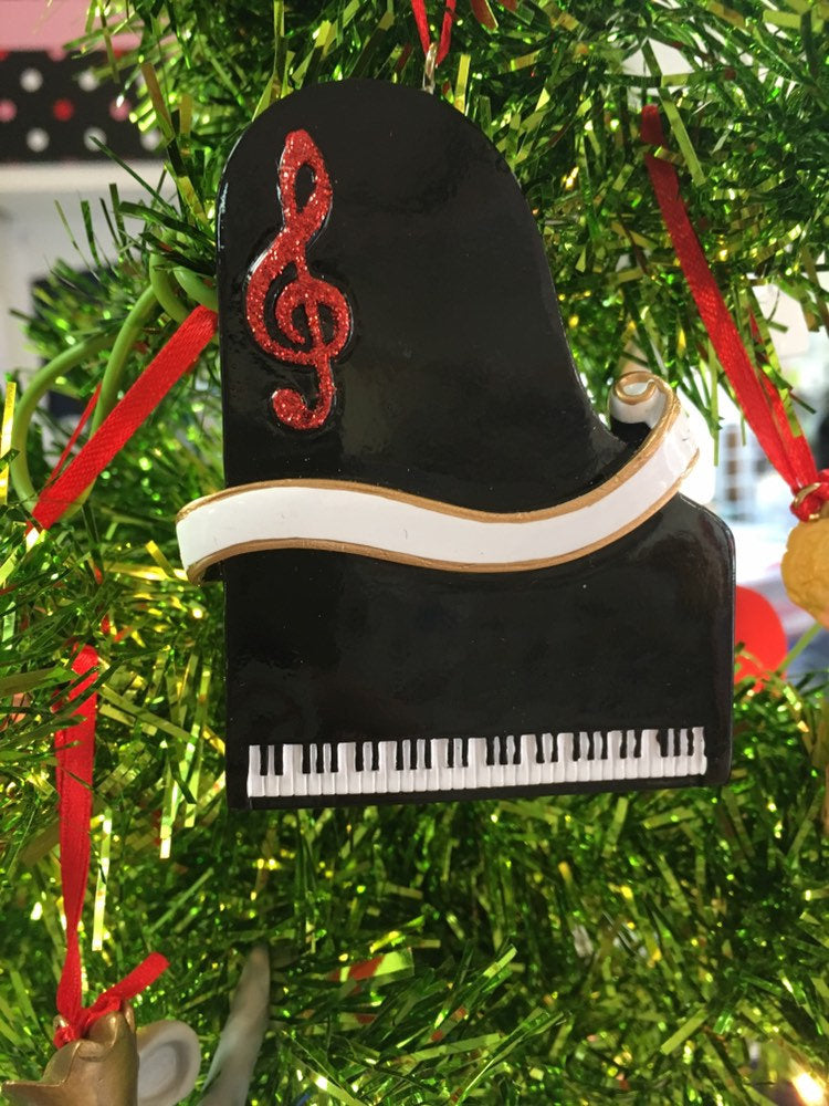 Piano- Personalized Ornament