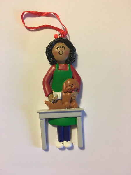 Pet Groomer Personalized Christmas Ornament