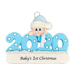 2020 Baby's First Christmas Personalized Ornament